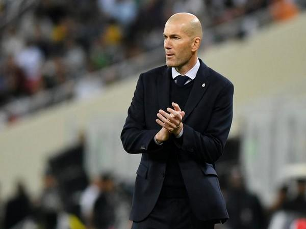 Real Madrid manager Zinedine Zidane (File photo)