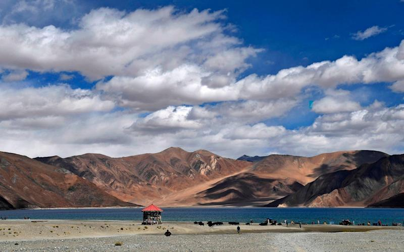 India and China have been facing-off for over a month in Ladakh in Kashmir - AFP