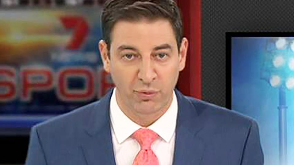 Basil Zempilas, pictured here on 7News.