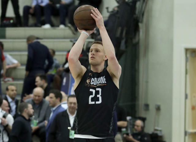 Donte DiVincenzo is a likely first-round draft pick. (AP)