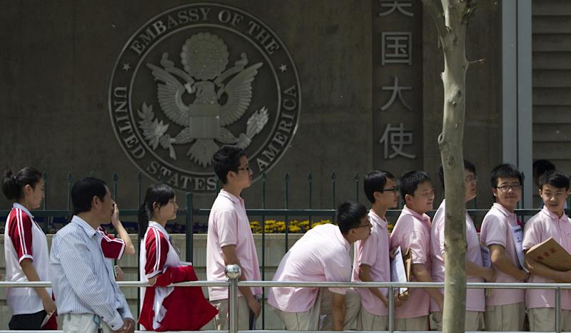 Chinese studying in US become 'political cannon fodder' as visa process tightens amid feud
