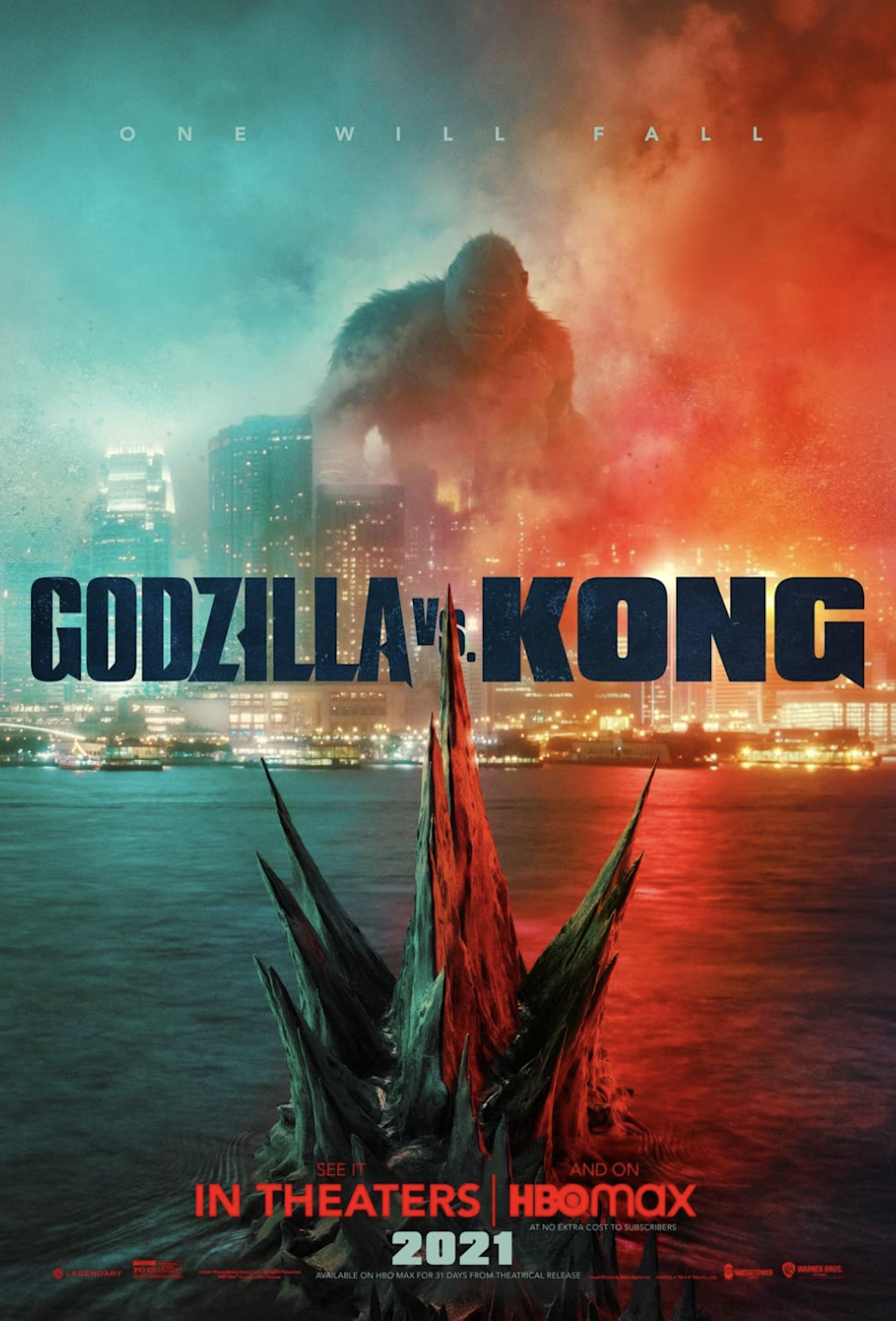 """<p>In another year, this movie might not have made the list. But <em>Godzilla vs. Kong</em> is especially noteworthy in 2021 because it marked a return of sorts to the theater-going experience. As vaccines were rolled out and theaters began opening up, <em>Godzilla vs. Kong</em> premiered…and immediately broke several box-office records. To date, it's grossed over $427 million worldwide. </p> <p><a href=""""https://www.amazon.com/gp/video/detail/amzn1.dv.gti.b4a168a6-a374-46dc-9983-a9816fbb166f?"""" rel=""""nofollow noopener"""" target=""""_blank"""" data-ylk=""""slk:Buy it on Amazon Prime"""" class=""""link rapid-noclick-resp""""><em>Buy it on Amazon Prime</em></a></p>"""