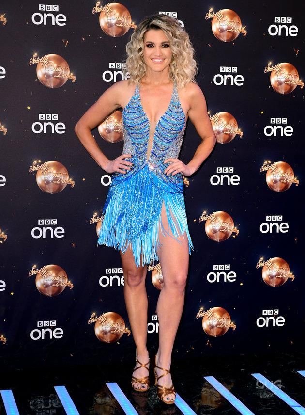 Ashley Roberts is one of the more experienced 'Strictly' dancers this year