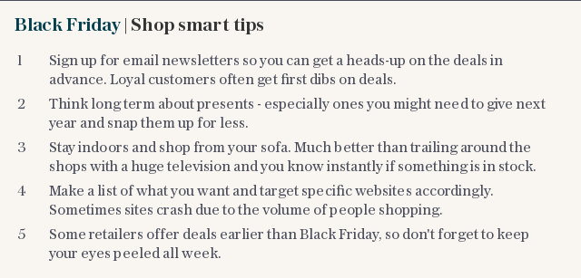 Black Friday | Shop smart tips