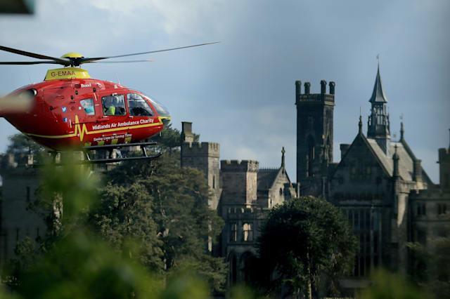 Four Hurt In Alton Towers Rollercoaster Crash