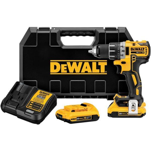 "<p><strong>DEWALT</strong></p><p>homedepot.com</p><p><strong>$199.00</strong></p><p><a href=""https://go.redirectingat.com?id=74968X1596630&url=https%3A%2F%2Fwww.homedepot.com%2Fp%2FDEWALT-20-Volt-MAX-XR-Lithium-Ion-Cordless-1-2-in-Brushless-Compact-Drill-Driver-with-2-Batteries-2Ah-Charger-and-Hard-Case-DCD791D2%2F206523964&sref=http%3A%2F%2Fwww.housebeautiful.com%2Fhome-remodeling%2Fg28424890%2Fbest-tools-for-home%2F"" target=""_blank"">BUY NOW</a></p><p>We've said it before and we'll say it again, <a href=""https://www.housebeautiful.com/shopping/best-stores/a28399323/prime-day-dewalt-tool-sale/"" target=""_blank"">DeWalt's 20v Max</a> line of drill kits have the perfect amount of punch for small fixes and big jobs alike. Use it in drill mode to handle wood and plastic pieces with ease. Switch it to hammer mode to bust through brick, metal, and even concrete. Plus, DeWalt tools are made in the USA and offer a three-year limited refund for any mechanical damage.</p>"