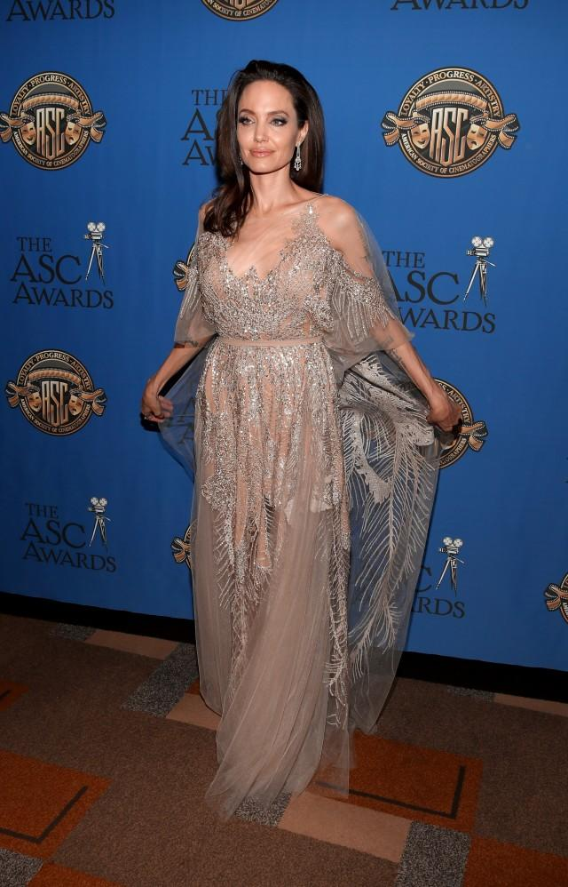 Angelina Jolie at American Cinematographer Awards 2018