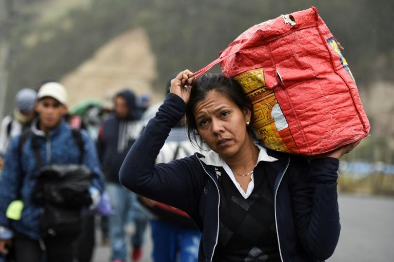 Venezuelan migrants are bearing precarious conditions often on foot to flee their country and head for safer pastures to the south