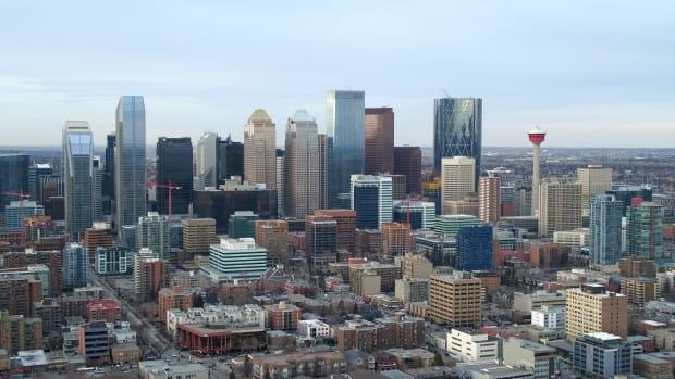 Calgary Mayor Naheed Nenshi said the Alberta government's 2021 budget failed to seize on opportunities presented by the ongoing pandemic. (Ed Middleton/CBC - image credit)