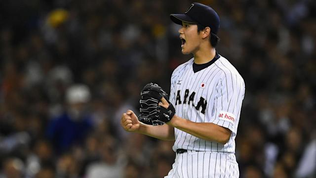 "The <a class=""link rapid-noclick-resp"" href=""/mlb/teams/laa/"" data-ylk=""slk:Los Angeles Angels"">Los Angeles Angels</a> have won the race to sign Shohei Ohtani, the Japanese star's agent announced Friday. (AP)"