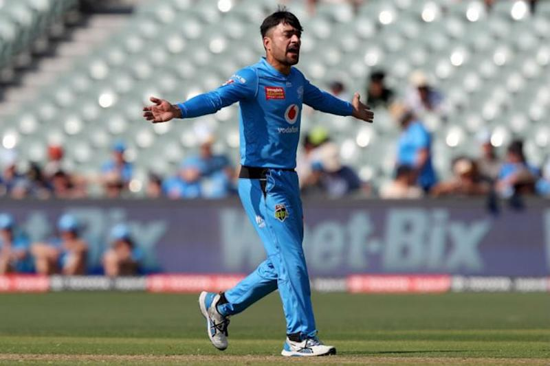 Watch Afghanistan Superstar Rashid Khan Pull Off a Perfect Helicopter Shot