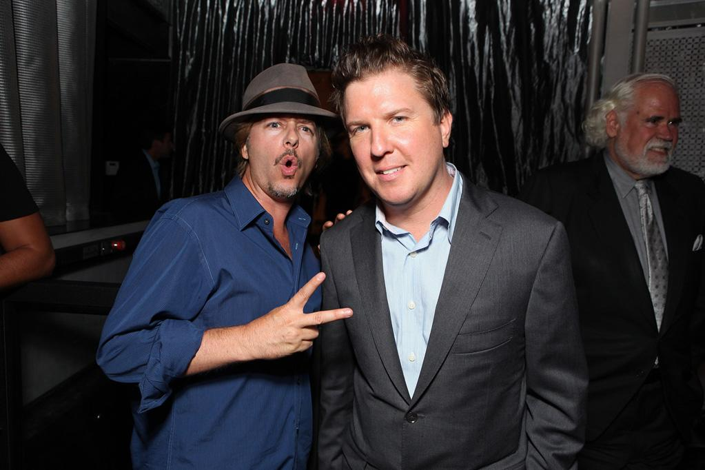 "<a href=""http://movies.yahoo.com/movie/contributor/1800019136"">David Spade</a> and <a href=""http://movies.yahoo.com/movie/contributor/1807879701"">Nick Swardson</a> at the Los Angeles premiere of <a href=""http://movies.yahoo.com/movie/1810160427/info"">30 Minutes or Less</a> on August 8, 2011."