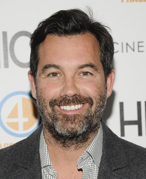 """FILE - This May 3, 2012 file photo shows Duncan Sheik at a special screening of """"Hick"""" in New York. The musical based on Bret Easton Ellis's novel """"American Psycho"""" will first try to slay an audience in London. The Headlong theatre company said Friday, April 19, 2013, it will stage the world premiere, which features songs by Tony Award-winner Duncan Sheik, at the Almeida Theatre this winter. Rupert Goold will direct. (AP Photo/Evan Agostini, file)"""