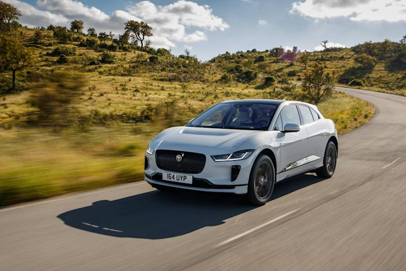 The Jaguar I-Pace is an upmarket electric SUV (Jaguar)