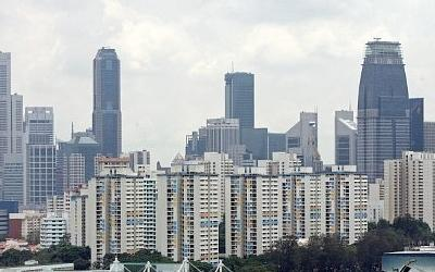 Shoe-box units are a recent trend in Singapore's housing market. (AFP photo)