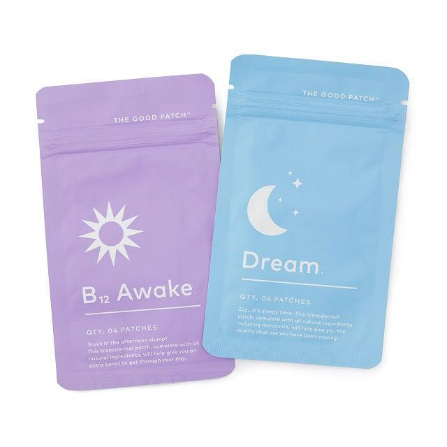 """<h2>The Good Patch Nite Nite & Wake Up Patches </h2><br>Stay on top of your travel schedule pre and post-flight with this duo of all-natural, transdermal patches that are designed to increase daytime energy and downtime relaxation.<br><br><em>Shop</em> <strong><em><a href=""""http://Uncommongoods.com"""" rel=""""nofollow noopener"""" target=""""_blank"""" data-ylk=""""slk:Uncommon Goods"""" class=""""link rapid-noclick-resp"""">Uncommon Goods</a></em></strong><br><br><strong>Uncommon Goods</strong> Nite Nite And Wake Up Patches, $, available at <a href=""""https://go.skimresources.com/?id=30283X879131&url=https%3A%2F%2Fwww.uncommongoods.com%2Fproduct%2Fnite-nite-and-wake-up-patches"""" rel=""""nofollow noopener"""" target=""""_blank"""" data-ylk=""""slk:Uncommon Goods"""" class=""""link rapid-noclick-resp"""">Uncommon Goods</a>"""