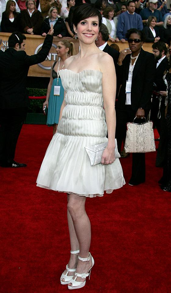 "<a href=""/mary-louise-parker/contributor/31330"">Mary-Louise Parker</a> at the <a href=""/the-2007-screen-actors-guild-awards/show/40550"">13th Annual Screen Actors Guild Awards</a>."