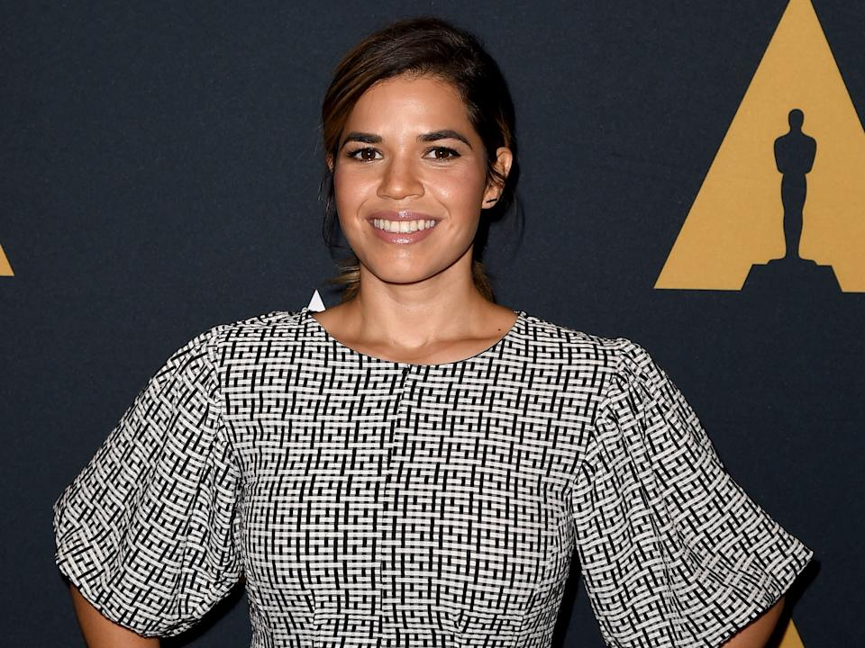 "America Ferrera at the Real Women Have Curves event in 2018. <p class=""copyright"">Kevin Winter/Getty Images</p>"