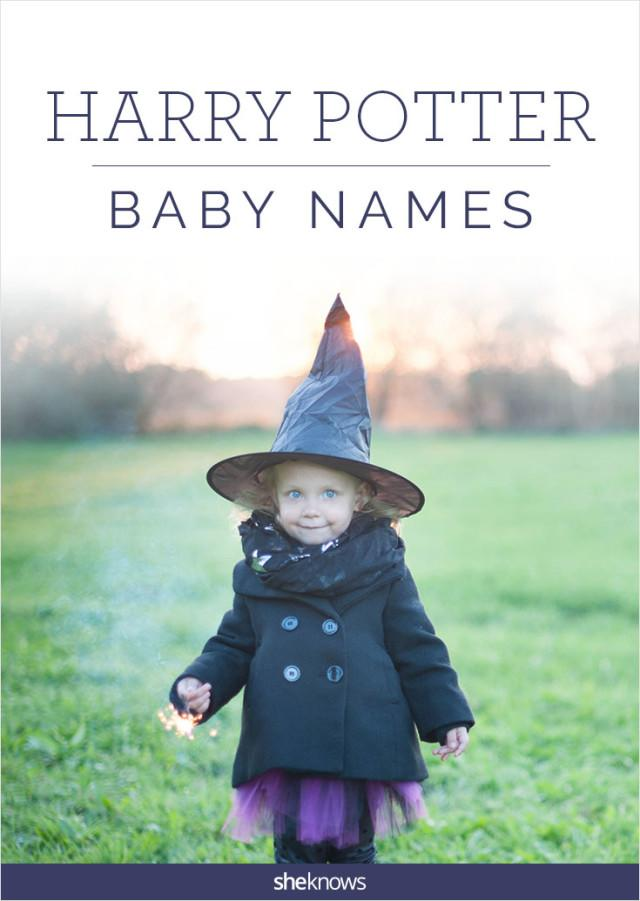 Harry Potter baby names