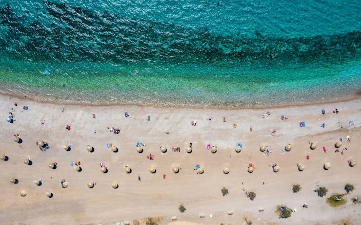 Greek holidaymakers have had to wait an extra week to return - istock