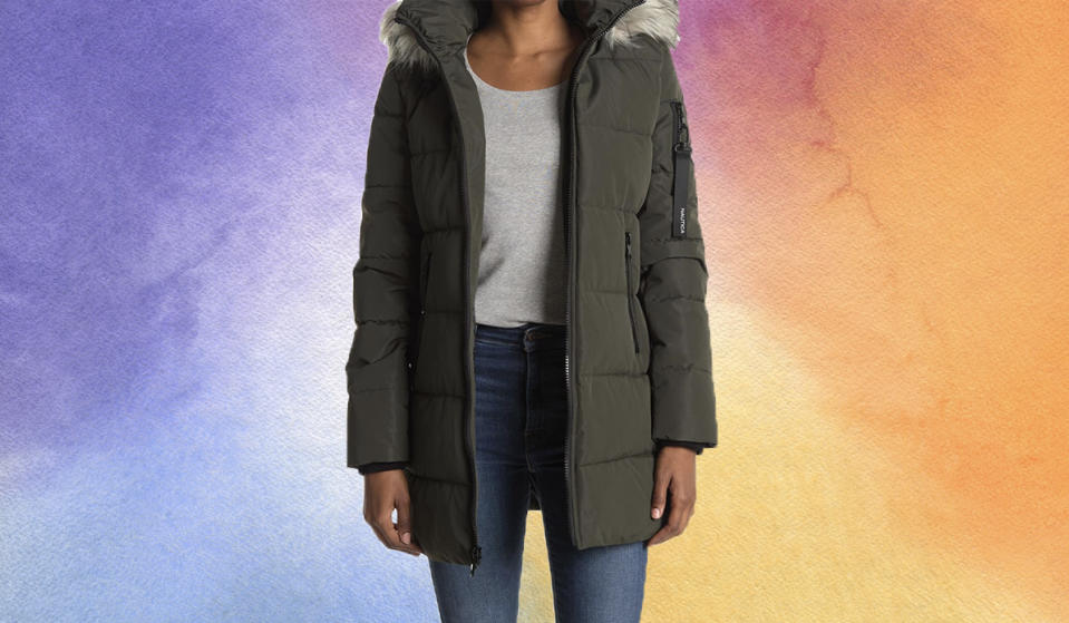 This sporty coat looks fab on everyone. (Photo: Nordstrom Rack)