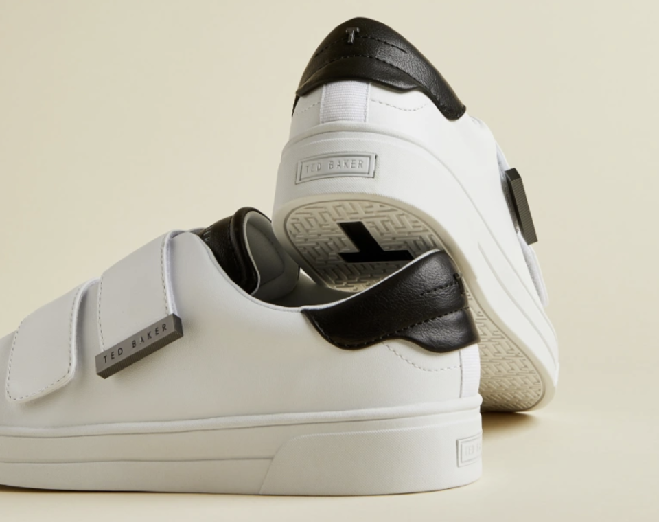 Double strap trainers, £76 (was £109). PHOTO: Ted Baker