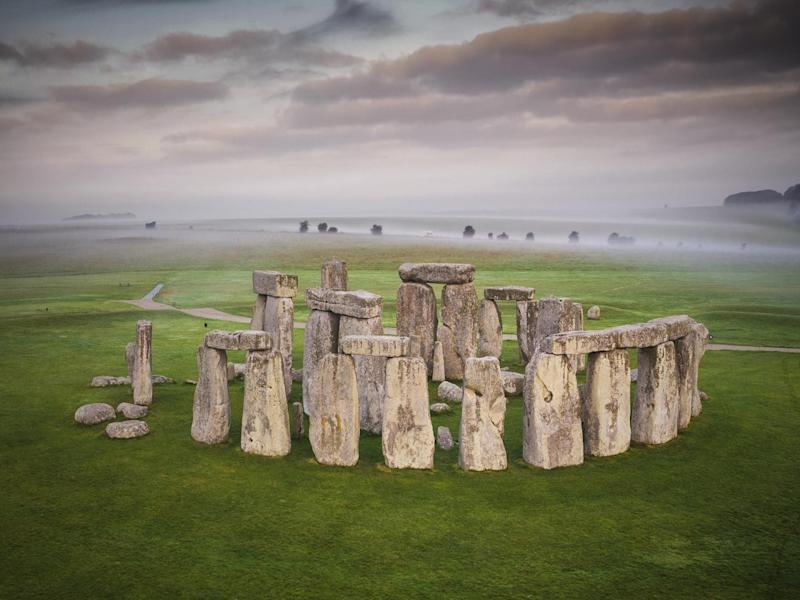 Overview of Stonehenge: Andre Pattenden/English Heritage