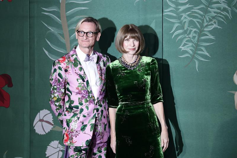 Hamish Bowles and Anna Wintour (Getty)