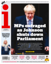 The i focused on the fury of MPs and said that MPs are now prepared to bring down the Government. (Twitter)
