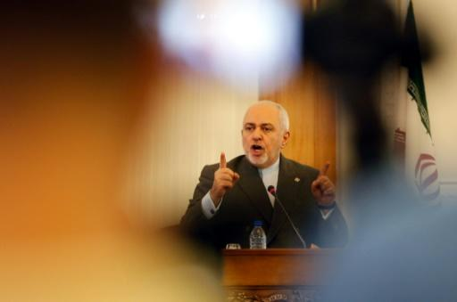 Zarif made the comments at a press conference in Tehran