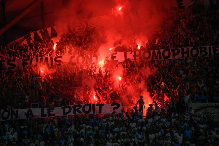 Several matches have already been interrupted in Ligue 1 this season due to homophobic chants and banners