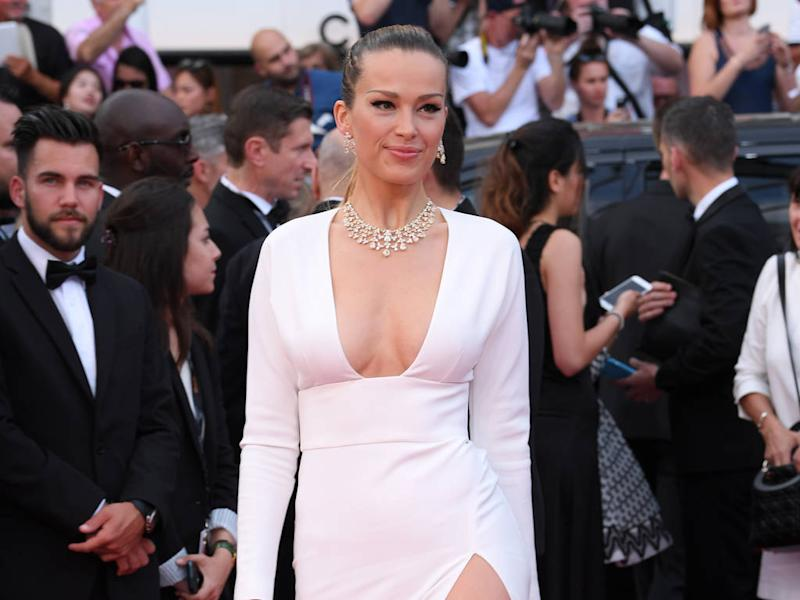 Petra Nemcova left red-faced after suffering wardrobe malfunction at Cannes