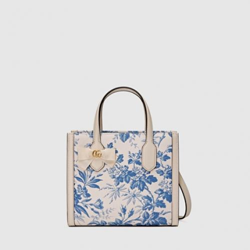 Gucci Small Herbarium Tote Bag 129 600 Comes With Removable Shoulder Strap Size Width 23 5cm X Height 20cm Handle 9 Cm