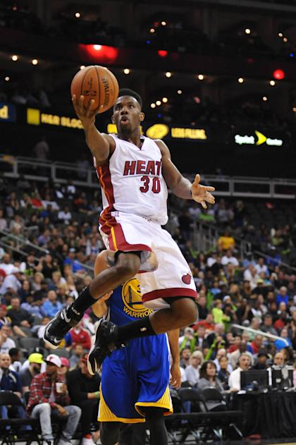 Norris Cole (30), suddenly fantasy relevant. (Denny Medley-USA TODAY Sports)