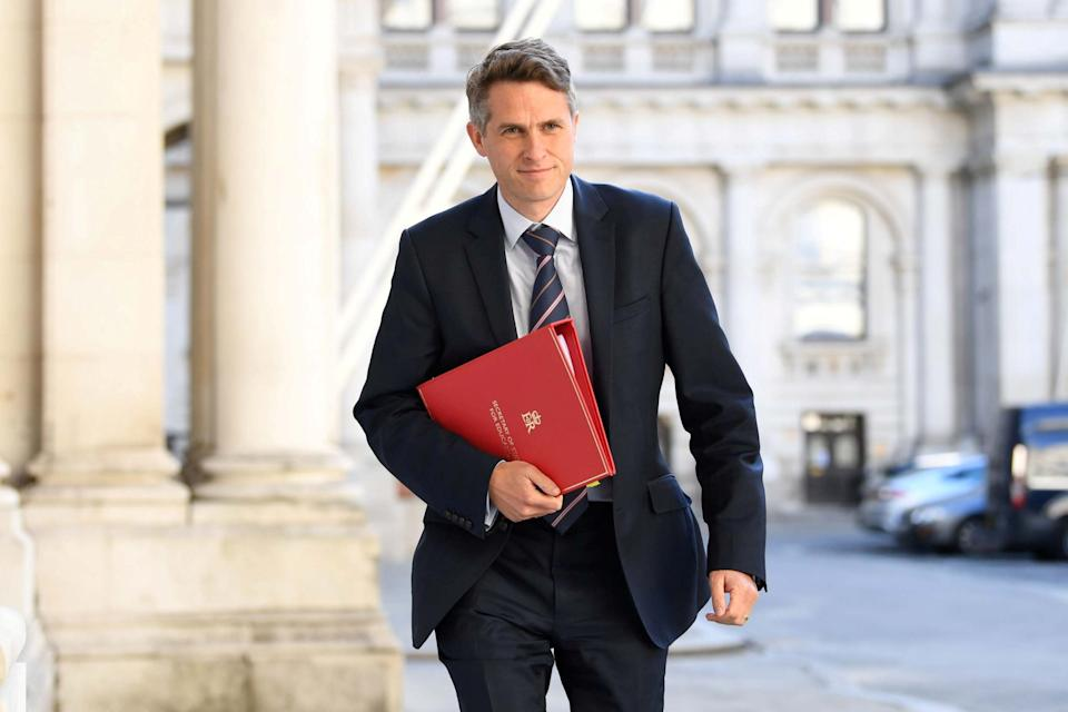 Gavin Williamson said the Government would cover the cost of appeals (REUTERS)