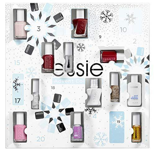 "<p><strong>Essie</strong></p><p>amazon.com</p><p><strong>$129.99</strong></p><p><a href=""https://www.amazon.com/dp/B07VTRJHX9?tag=syn-yahoo-20&ascsubtag=%5Bartid%7C10055.g.29613883%5Bsrc%7Cyahoo-us"" rel=""nofollow noopener"" target=""_blank"" data-ylk=""slk:Shop Now"" class=""link rapid-noclick-resp"">Shop Now</a></p><p>Not the BYO nail polish type? By Christmas Day, you'll be changing your tune, with a pile of <a href=""https://www.goodhousekeeping.com/beauty/nails/g29008877/best-winter-nail-colors/"" rel=""nofollow noopener"" target=""_blank"" data-ylk=""slk:wintery nail polishes"" class=""link rapid-noclick-resp"">wintery nail polishes</a> to ponder for your next pedicure (the calendar includes other nail care surprises, too). While this calendar is definitely a splurge, you'll get your money's worth if you're bold enough to try a range of colors. </p>"