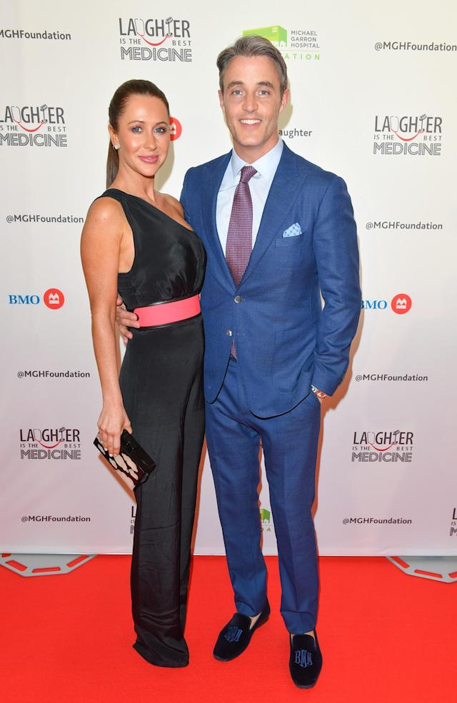 Jessica Mulroney and husband Ben Mulroney have now both left or lost jobs over the row. (WireImage)