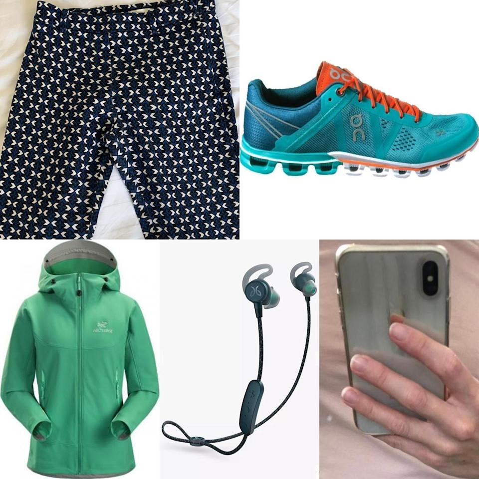 Clothing worn and items carried by Sarah Everard when she went missing. (Photo: Metropolitan Police)