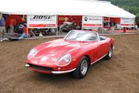 <p>Coming first in two-cam and later in four-cam models, the handsome V-12-powered 275 was one of the final cars produced before Ferrari evolved into a more angular design style.</p>