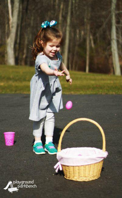 "<p>Kids who may not be coordinated enough to handle the grown-ups' egg toss will love getting in on the fun with this easier alternative. </p><p><strong>Get the tutorial at <a href=""https://playgroundparkbench.com/kids-easter-party-games/"" rel=""nofollow noopener"" target=""_blank"" data-ylk=""slk:Playground Parkbench"" class=""link rapid-noclick-resp"">Playground Parkbench</a>. </strong></p>"