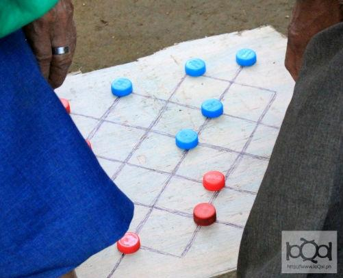 'Dama' is a traditional Filipino game of strategy and wits