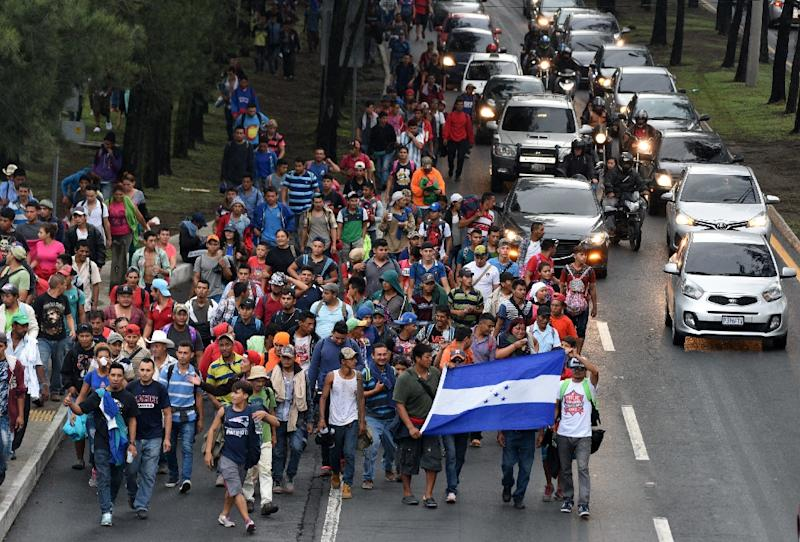 President Trump Threatens Nightmare 1,500 Honduran Immigrants Marching to U.S.