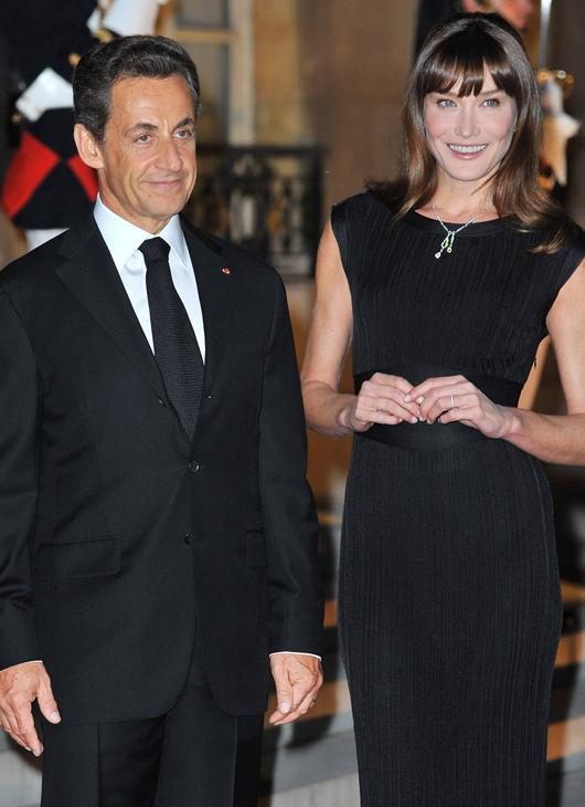Weird celebrity couples: Yes, we find it strange too that French President Nicolas Sarkozy is married to former model Carla Bruni-Sarkozy.
