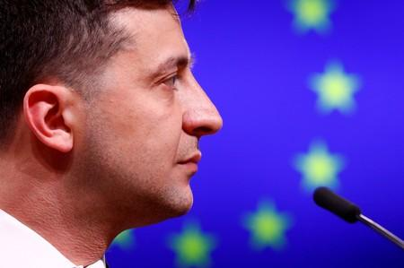 Party of Ukraine's new president leads parliamentary vote race