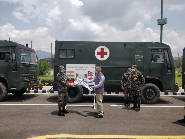 India provides medical aid to Nepal to combat COVID-19. (Photo: Indian Embassy Twitter)