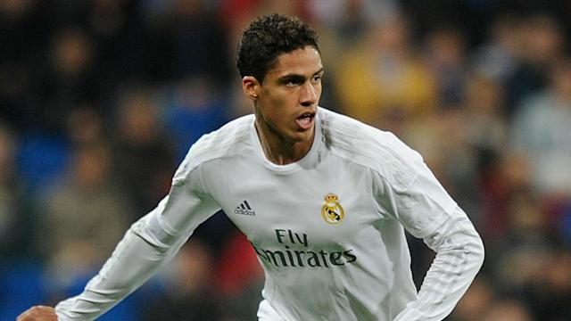 Raphael Varane will miss Real Madrid's games against Atletico Madrid, Barcelona and Bayern Munich through injury.