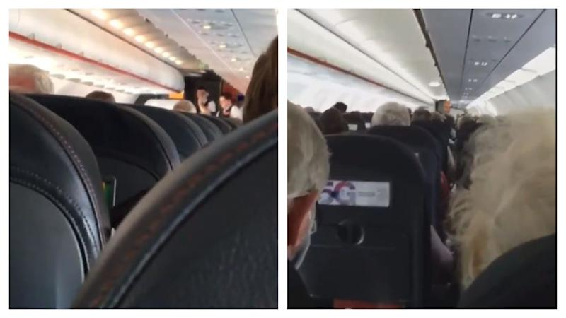 EasyJet staff give 'emotional' speeches to passengers ahead of flight layoff