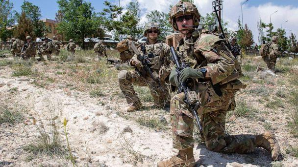 PHOTO: Advisors from the 2nd Security Force Assistance Brigade are pictured during their 2019 deployment to Afghanistan, May 20, 2019. (2nd Security Force Assistance Brigade)