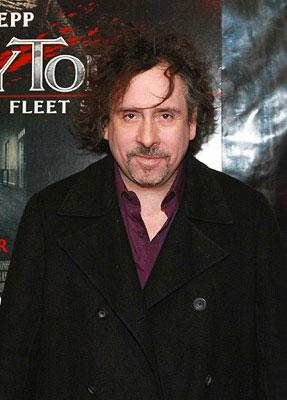 """Premiere: Director <a href=""""/movie/contributor/1800023303"""">Tim Burton</a> at the New York City premiere of DreamWorks Pictures' <a href=""""/movie/1809834155/info"""">Sweeney Todd: The Demon Barber of Fleet Street</a> - 12/03/2007<br>Photo: <a href=""""http://www.wireimage.com"""">Dimitrios Kambouris, WireImage.com</a>"""