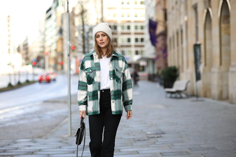 <p>It's just like your favorite flannel, but heavier with wool finishes that are meant to keep you cozy all season. We'll throw these on around the house and style with jeans and over dresses to layer up through the winter - even under our heavier coats and jackets.</p>